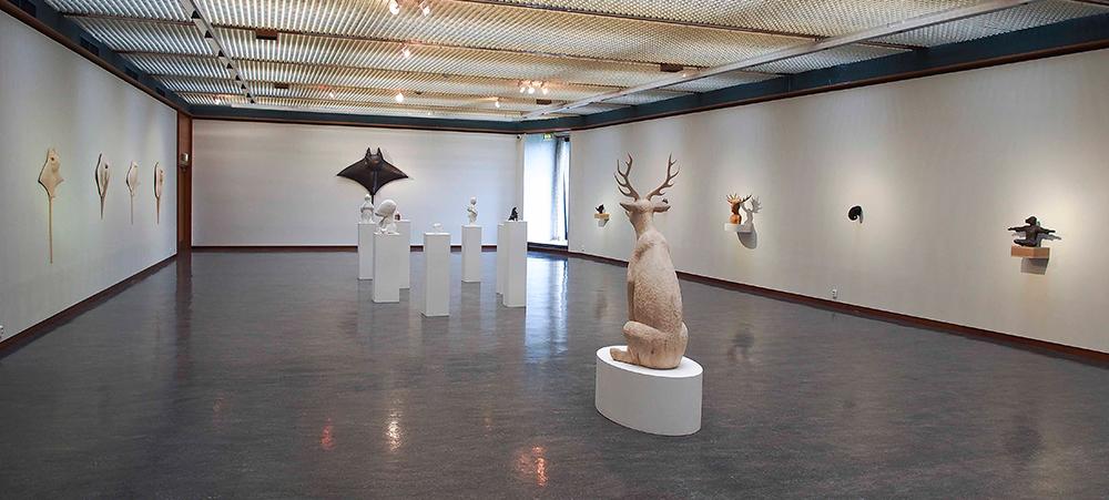 Bilde fra utstilling. Diverse materialer. Sted: Haugesund billedgalleri. 2012. (Foto: Petter Hepsø)