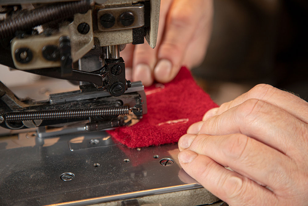 kunsthåndverk, Kirkhorn, tekstil, søm, klær