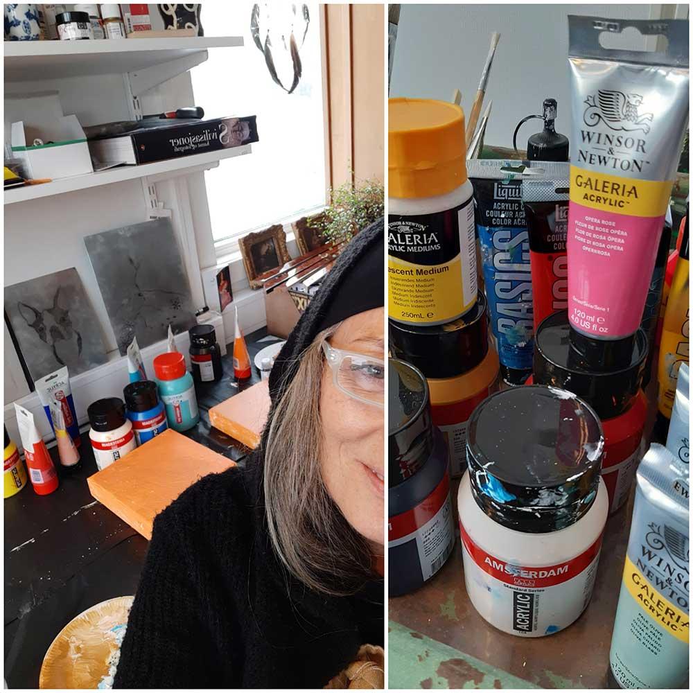 Fra atelier til Marianne Omarsdatter Sundby, DM12 i Fredrikstad.