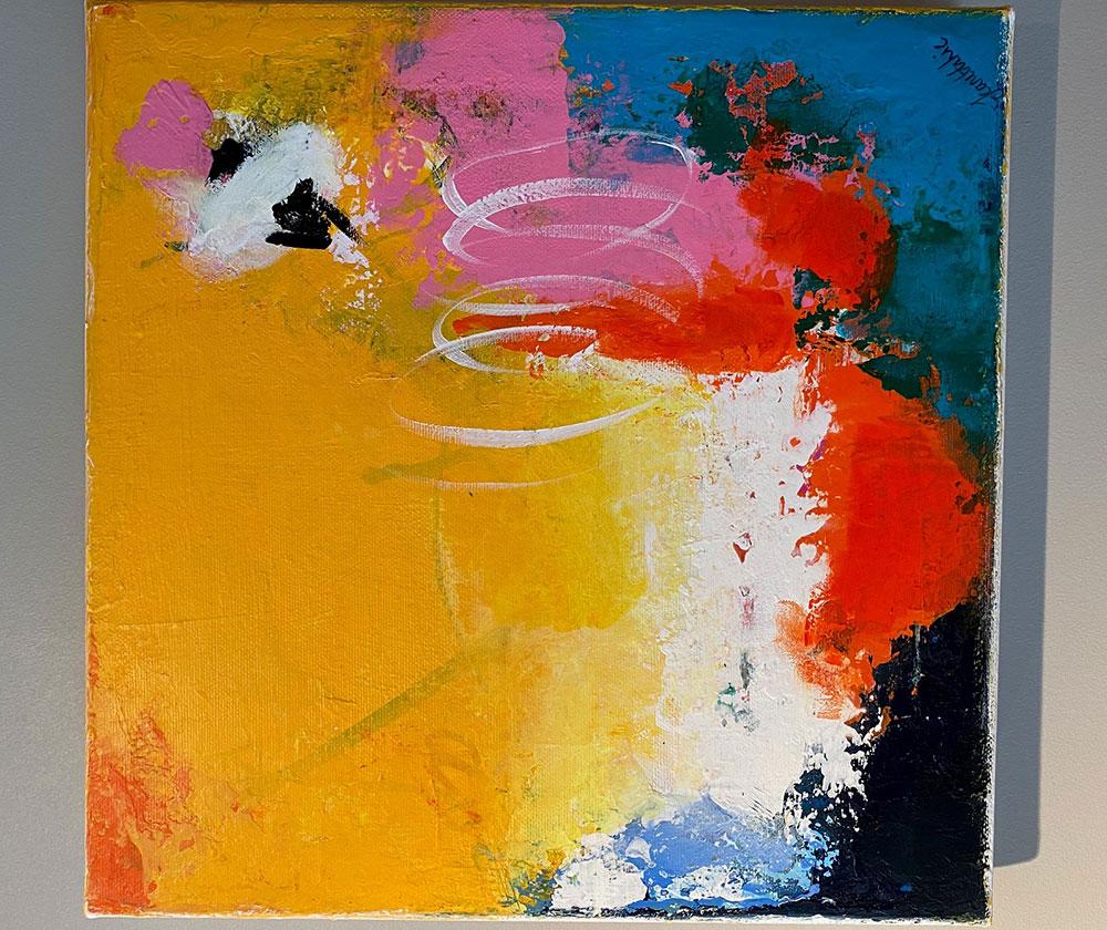 Maleri av Jeanette Lie, Galleri Hjertlie.