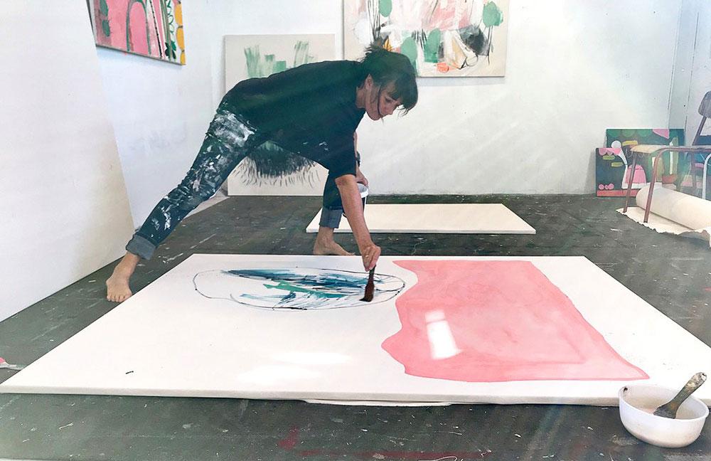 Kristin Romberg i arbeid